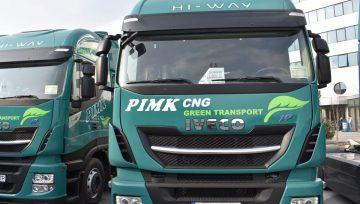ПИМК пусна по пътищата Iveco NP400 на природен газ